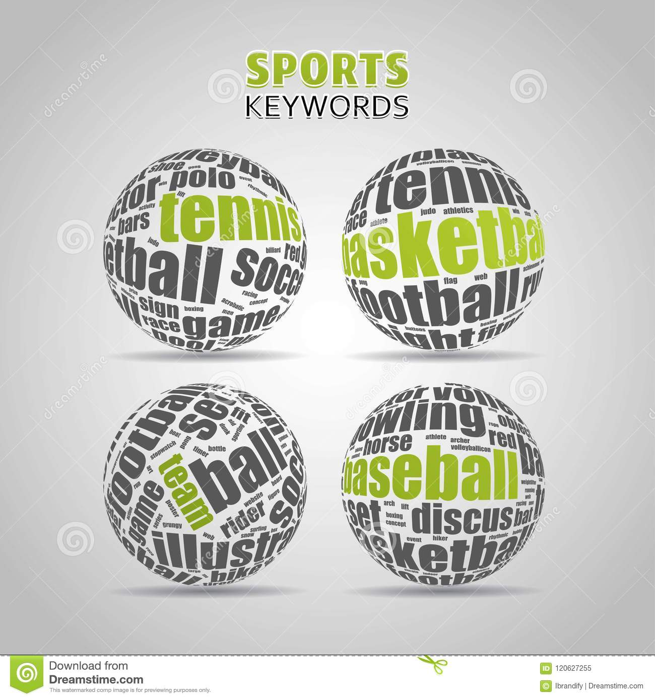 Popular Medical Terms in a Ball shape
