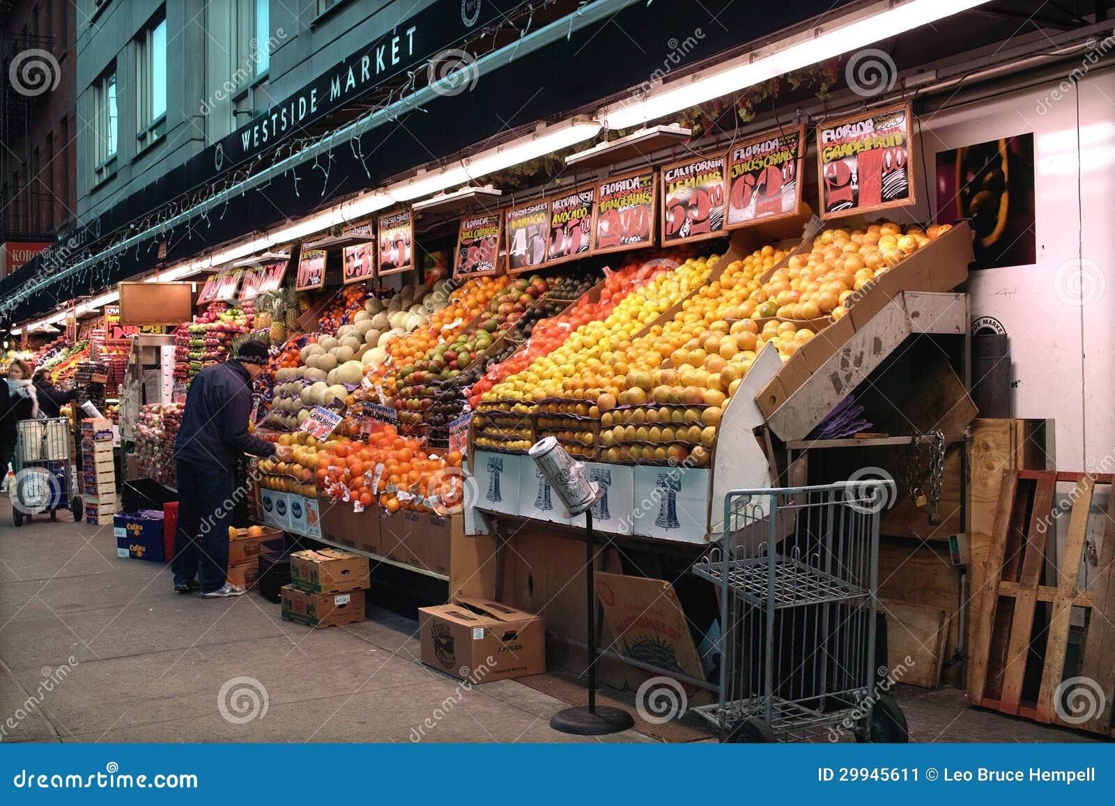 All Night Market, New York editorial photo  Image of fruit