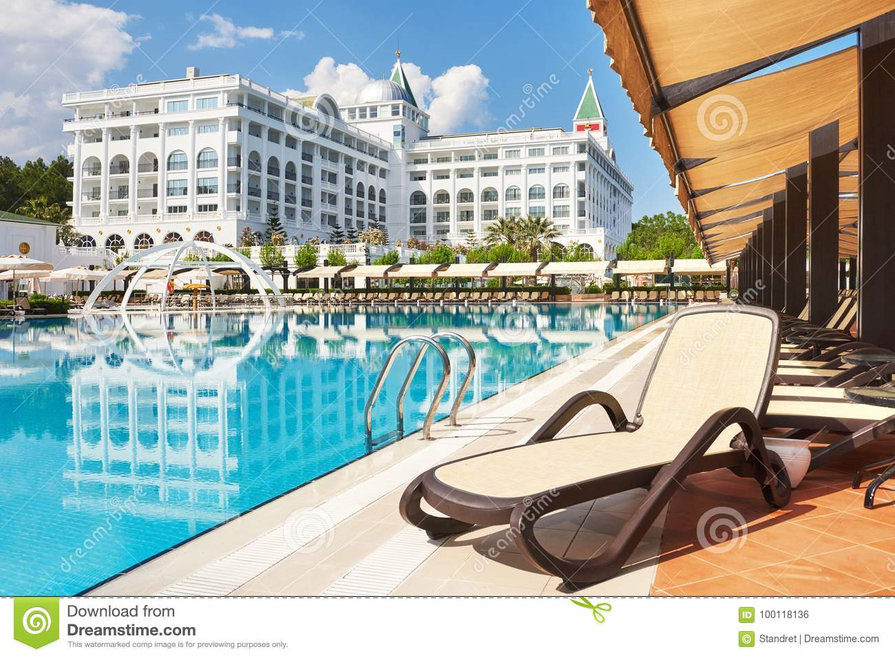 The Popular Resort Amara Dolce Vita Luxury Hotel With Pools And