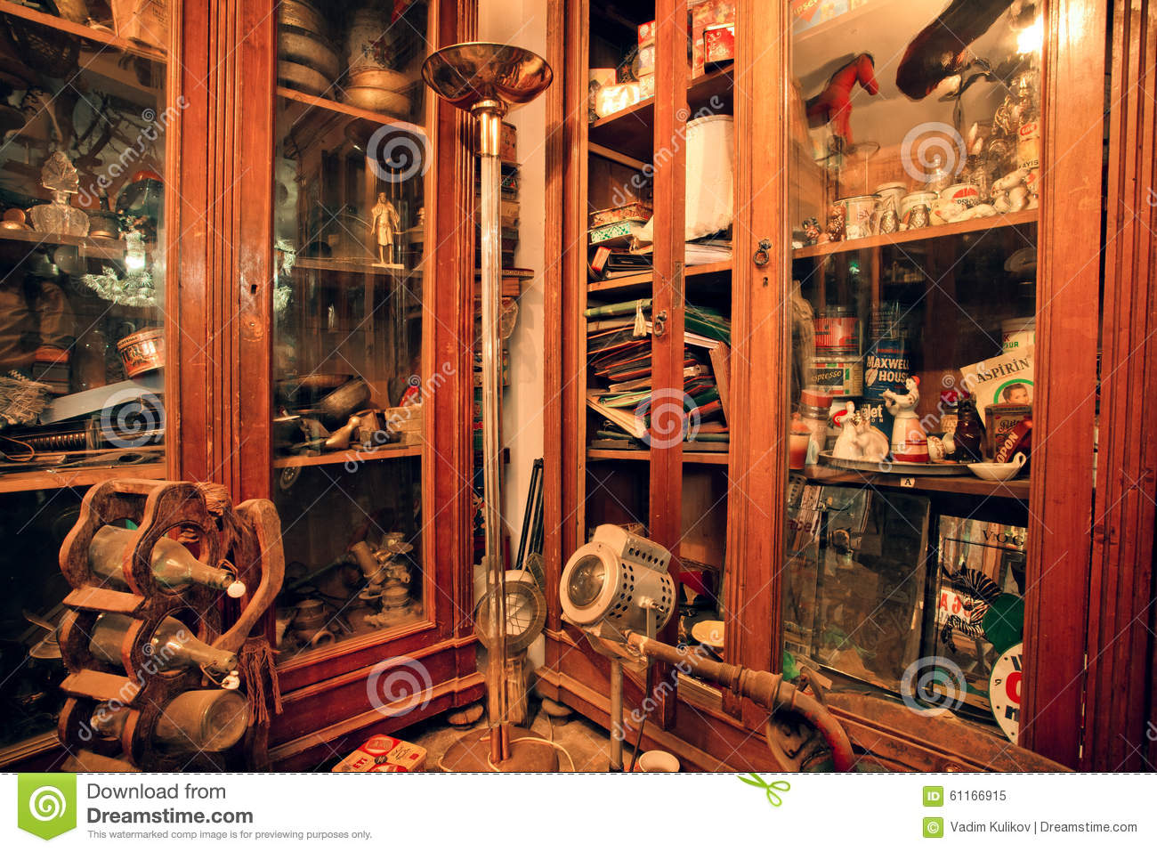 popular second hand store royalty free stock photo