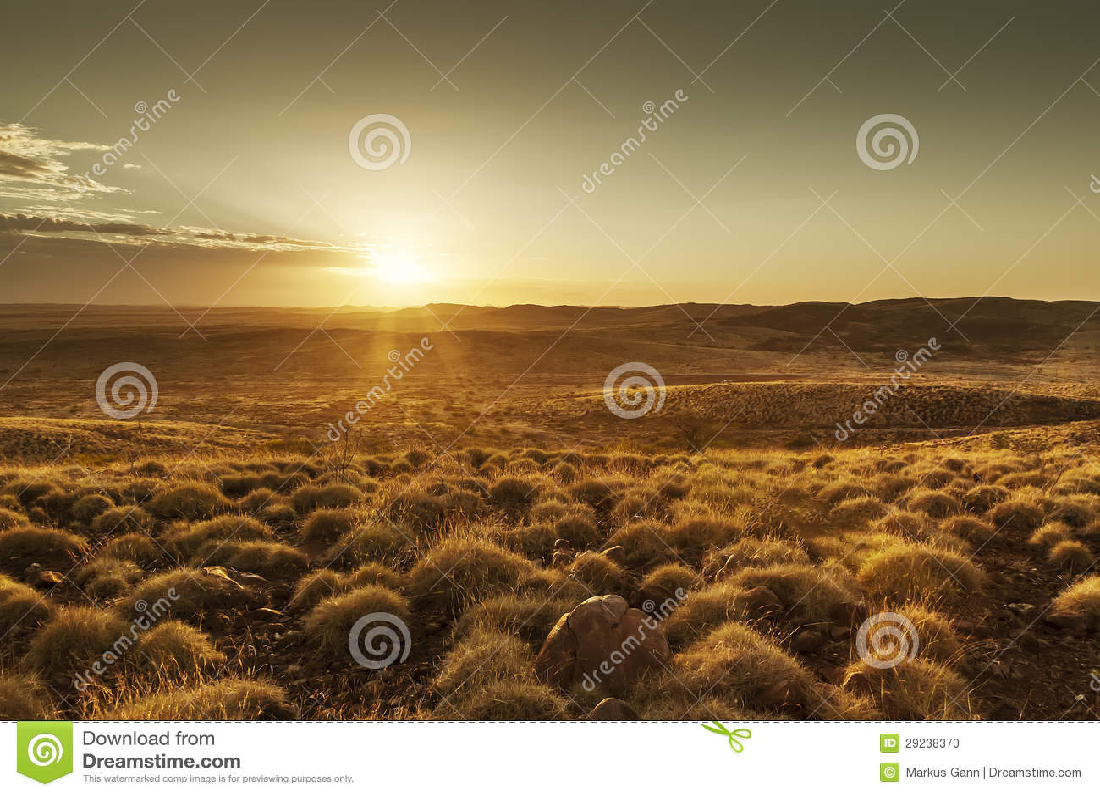Download Por do sol de Austrália foto de stock. Imagem de dusk - 29238370