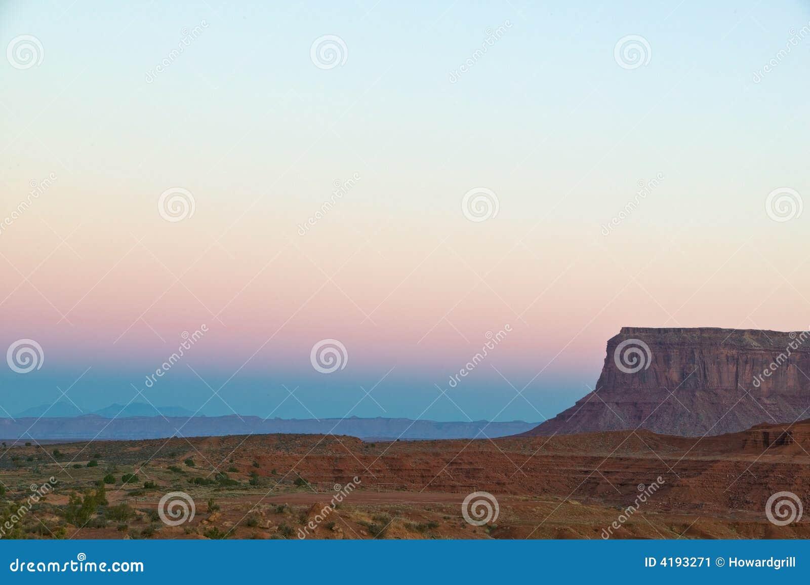 Por do sol do Arizona