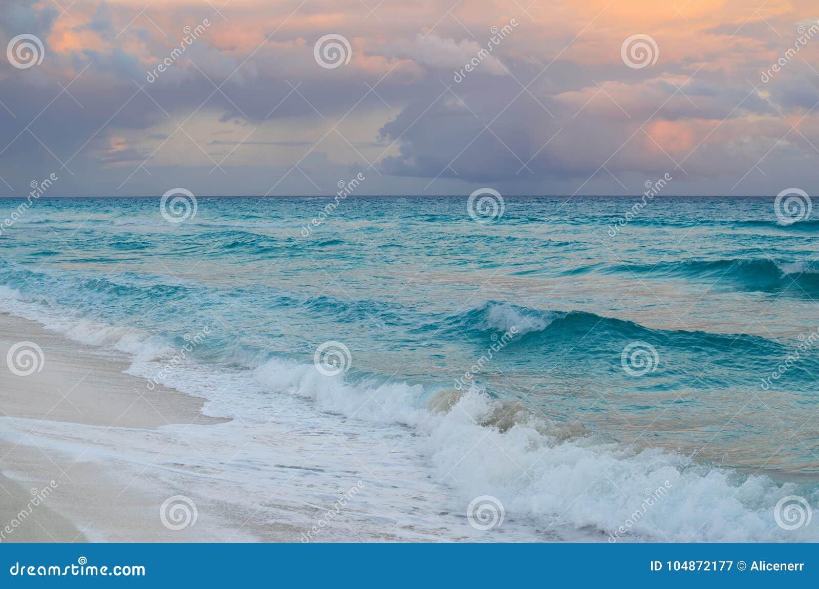 Por do sol impressionante no Sandy Beach