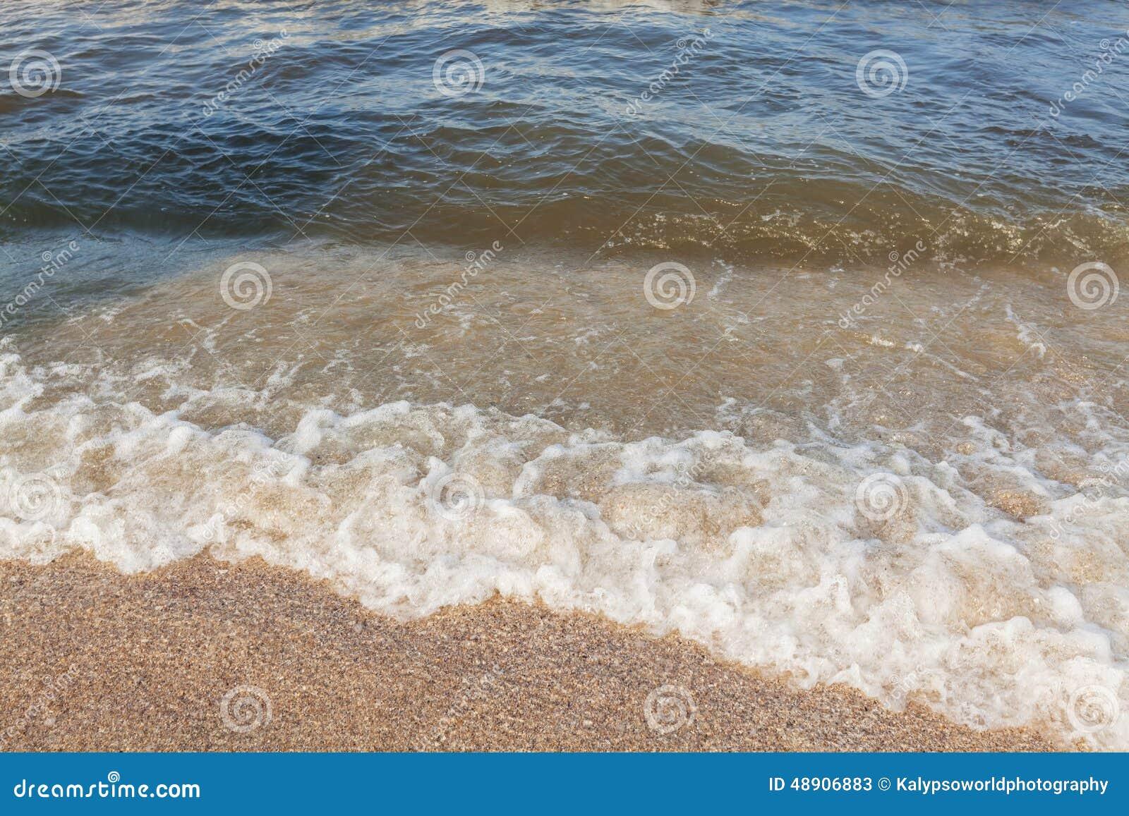 Por do sol sobre o Mar Negro, Romênia, praia de Mamaia, Constanta