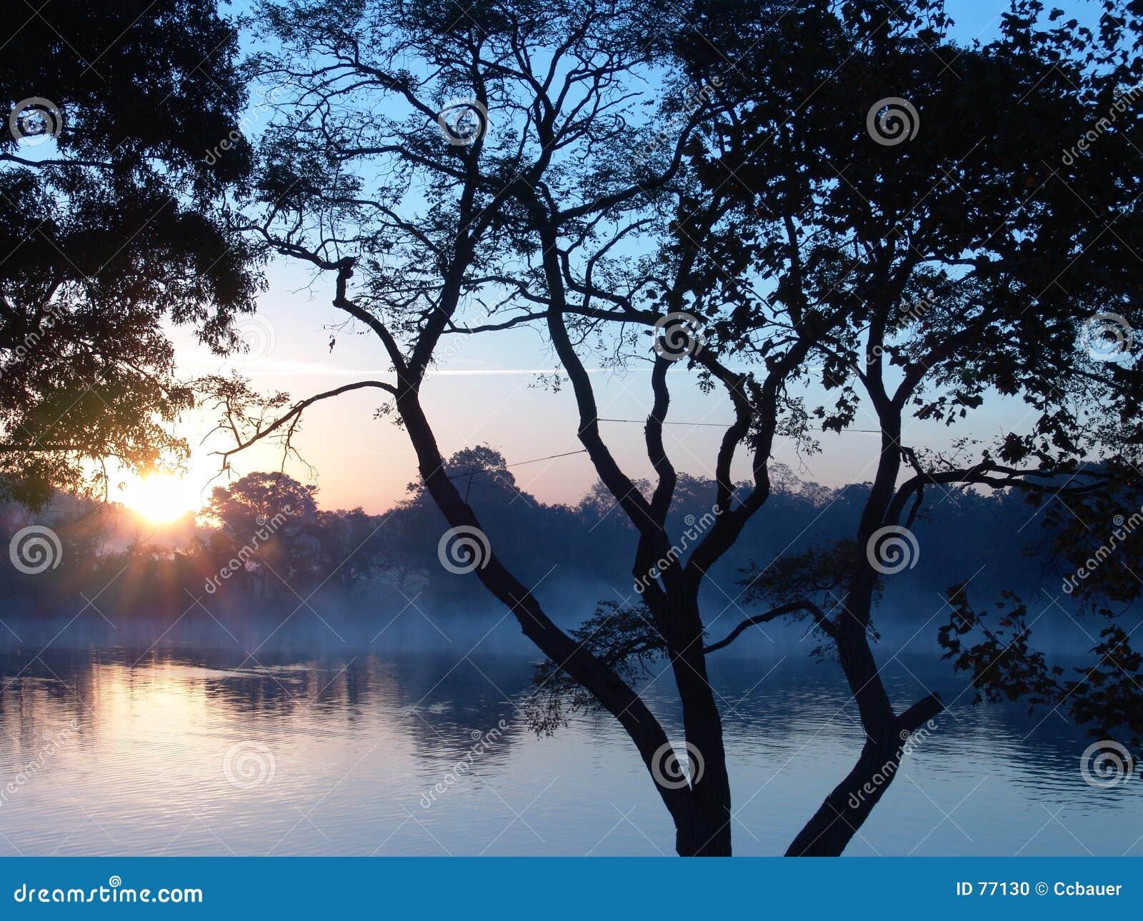 Poranny wschód słońca