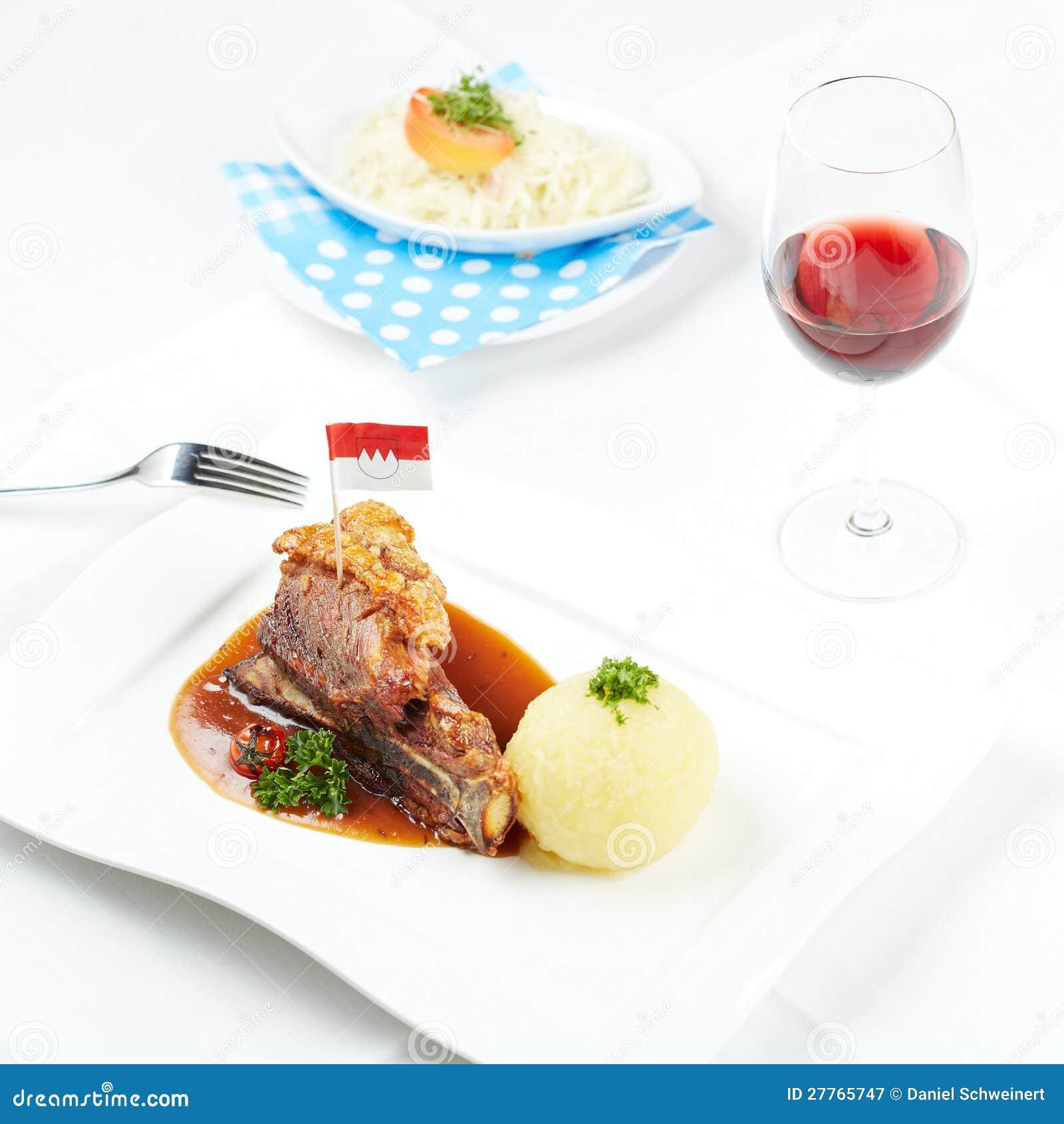 Porc allemand de crépitement