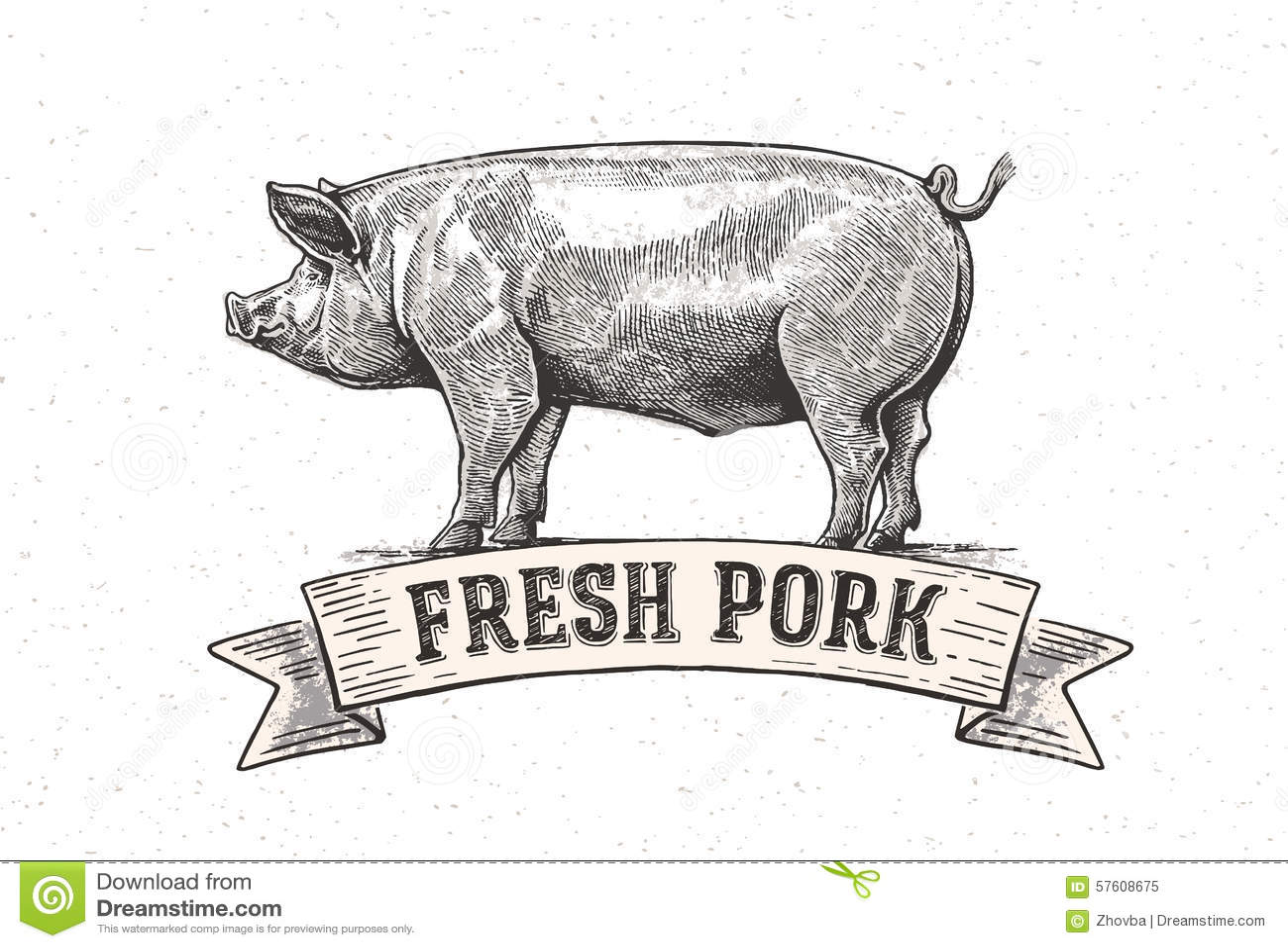 Porc graphique
