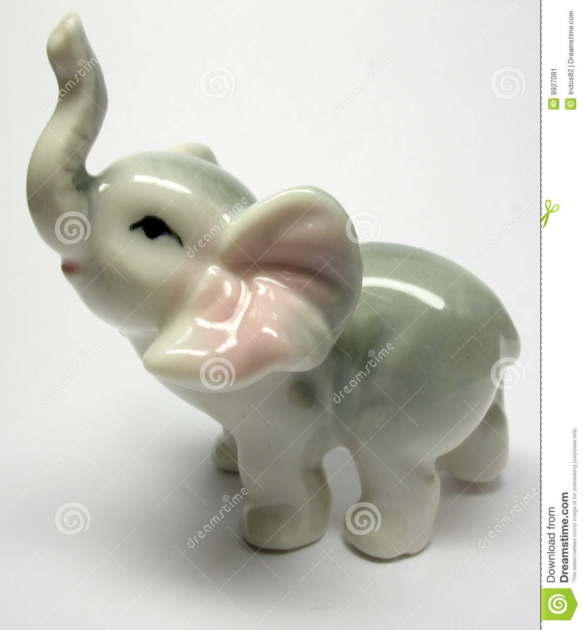 Porcelain Elefant