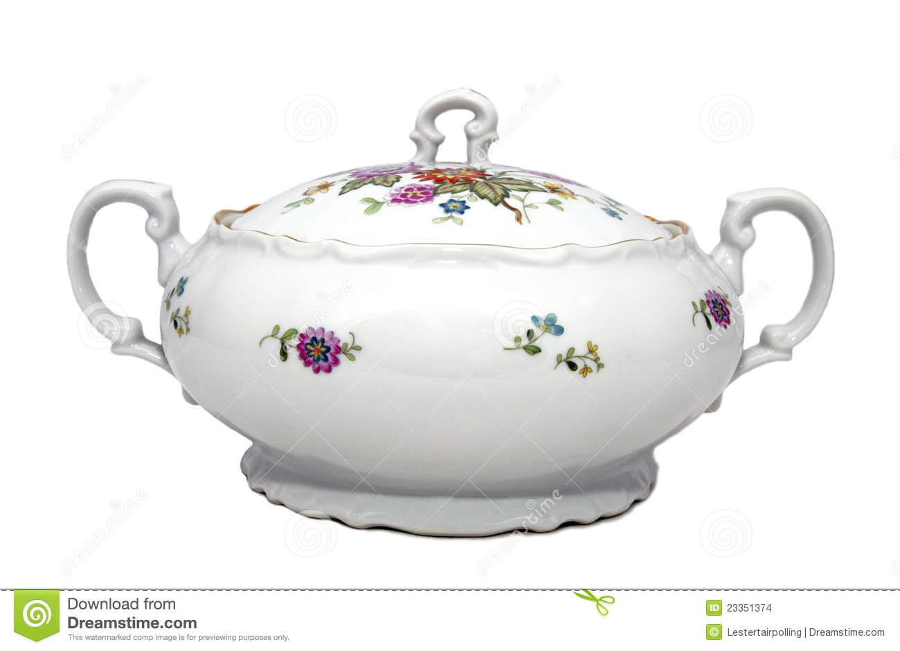 Fiesta Soup Tureen from Homer Laughlin