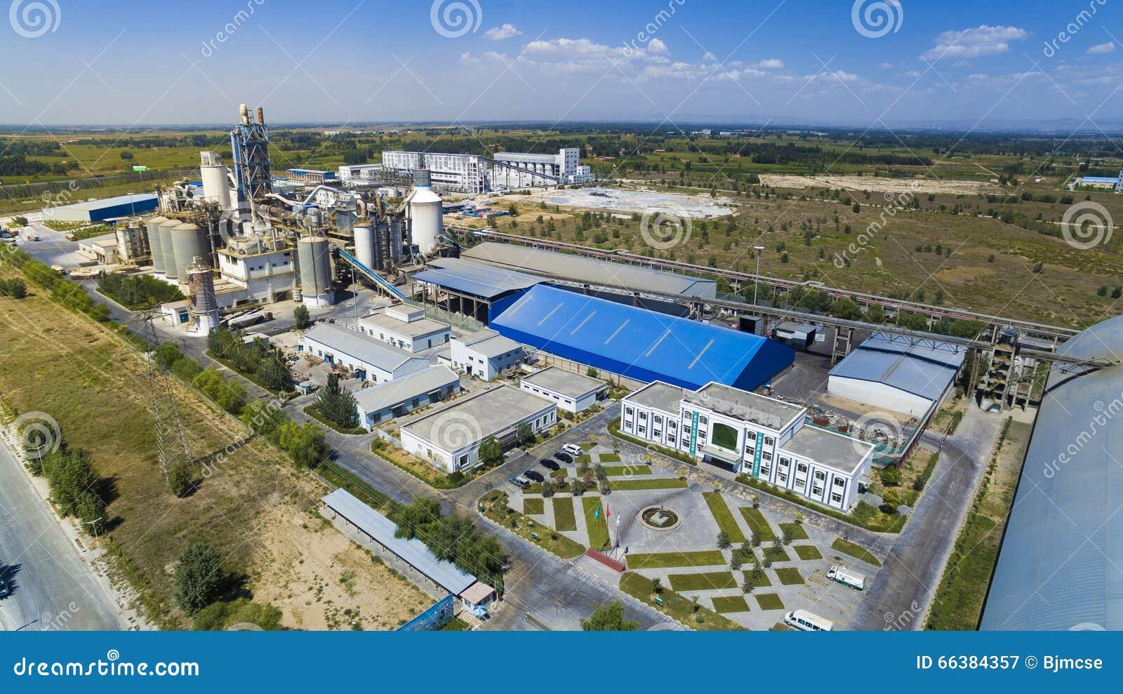 Porcelaine d usine de ciment