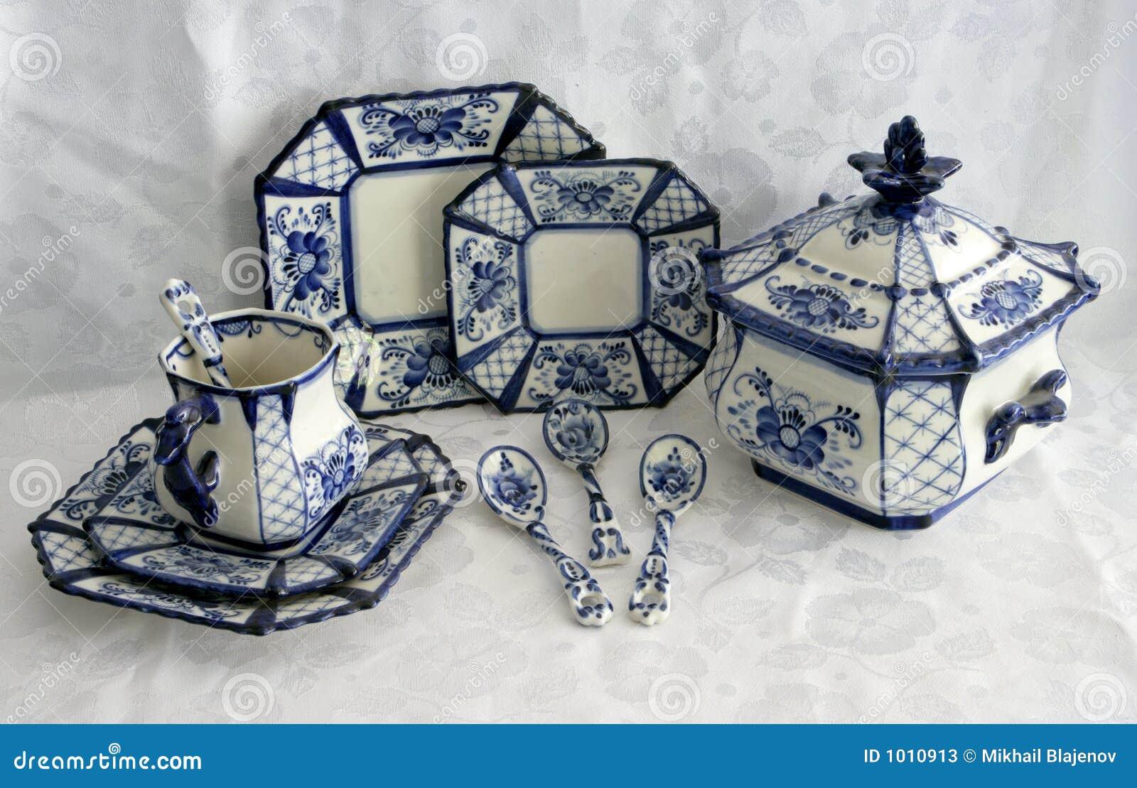 Porcelana 3 płótna