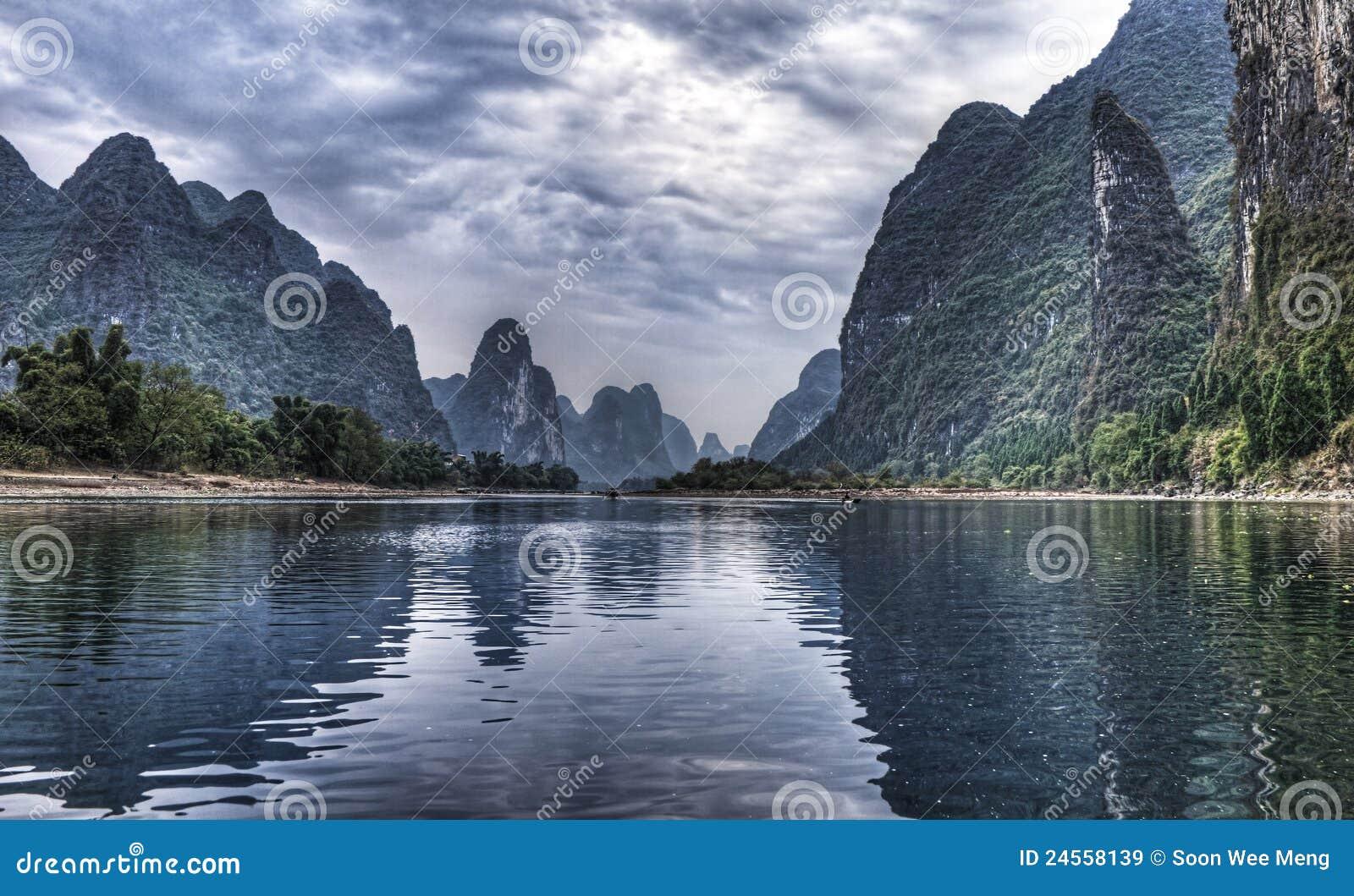 Porcelanowa rejsu Guilin li rzeka