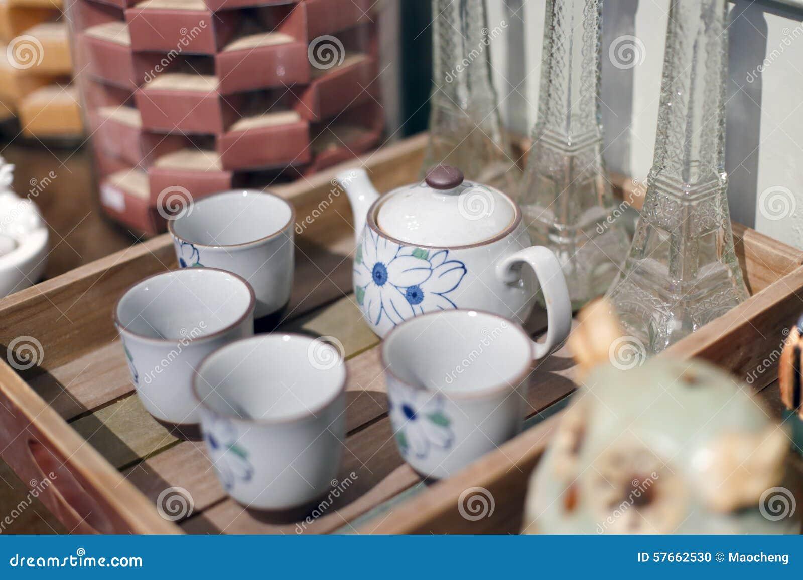 Porcelanowy teapot