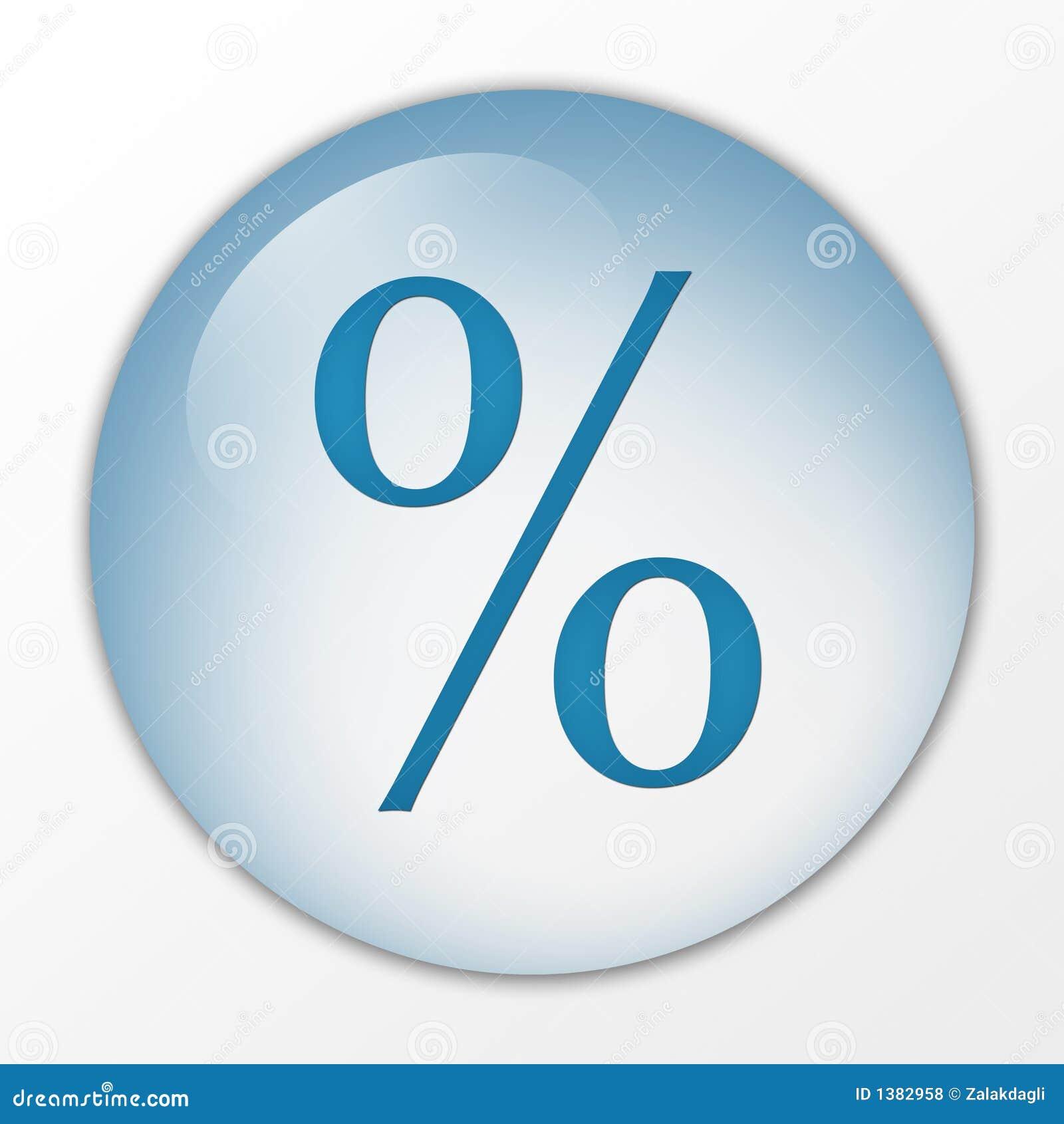 Porcentagem, por cento, engodo, tecla do Web, placa, açambarcamento, tecla, interruptor, símbolo, sinal, logotipo