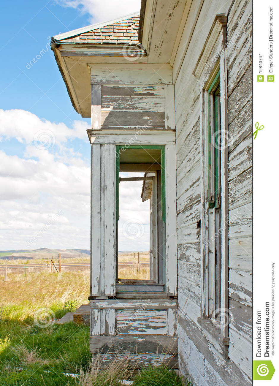 Porch of Abandoned House