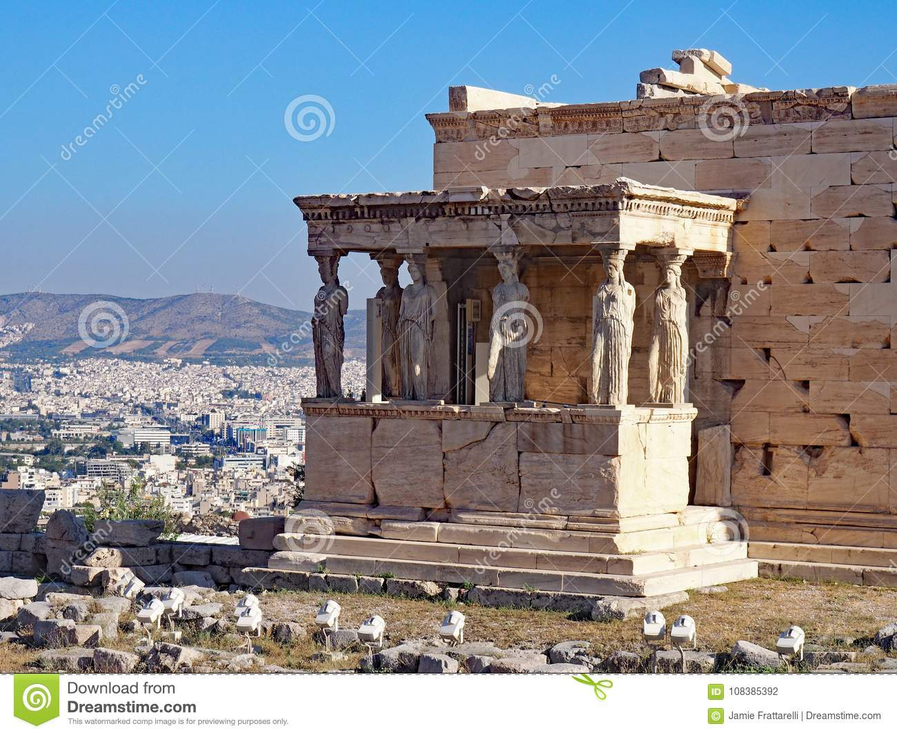 The Porch of the Caryatids, Athens, Greece