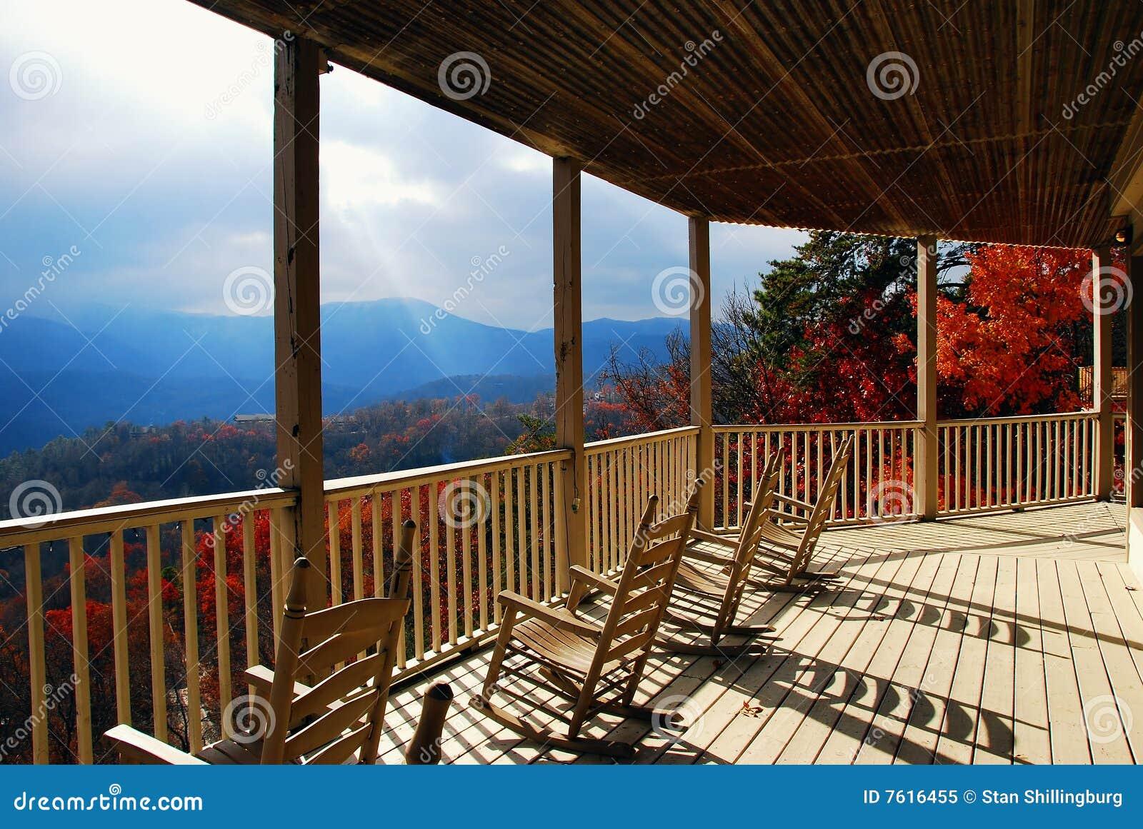Porche d automne et couleurs d automne
