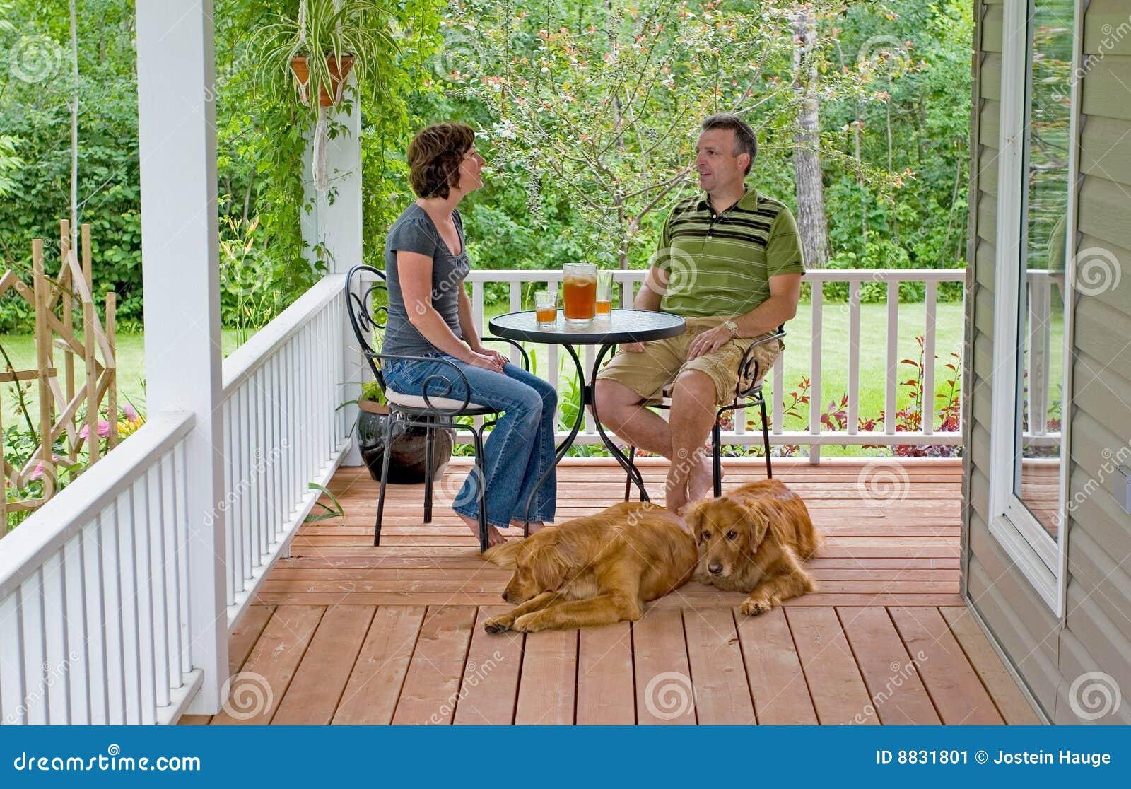 Porche de couples
