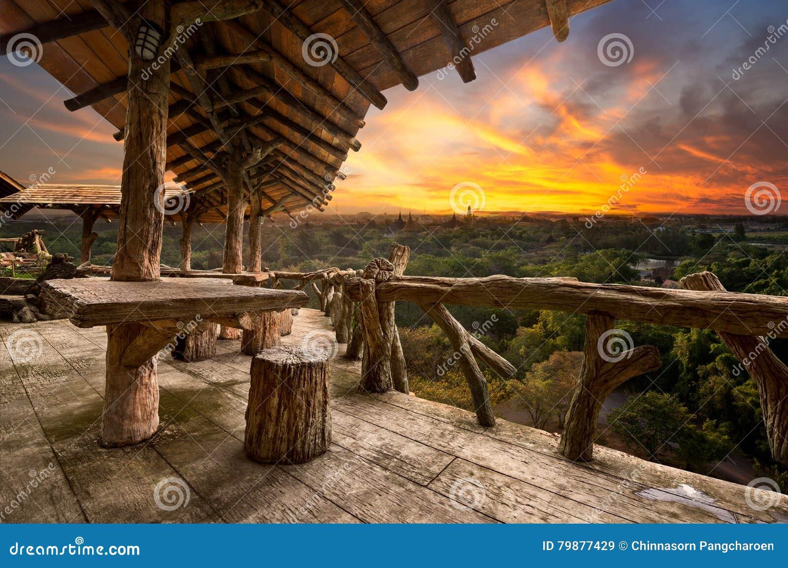 Porche en bois
