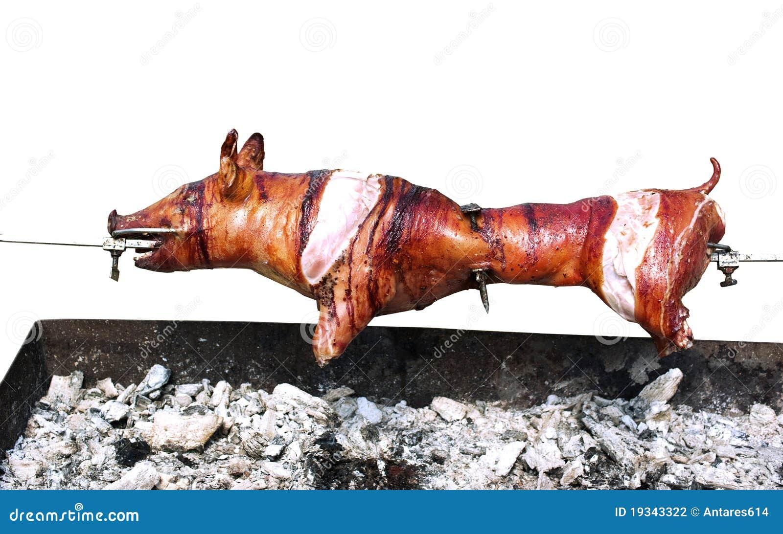 Porco grelhado