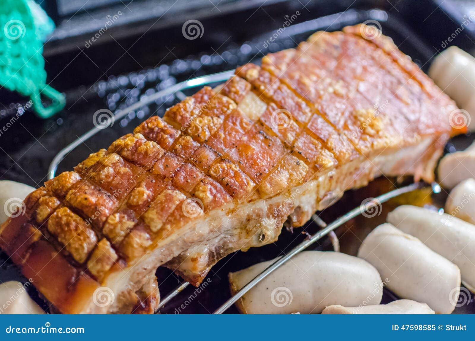 Pork flanc stock image. Image of norway, christmas, unhealthy - 47598585