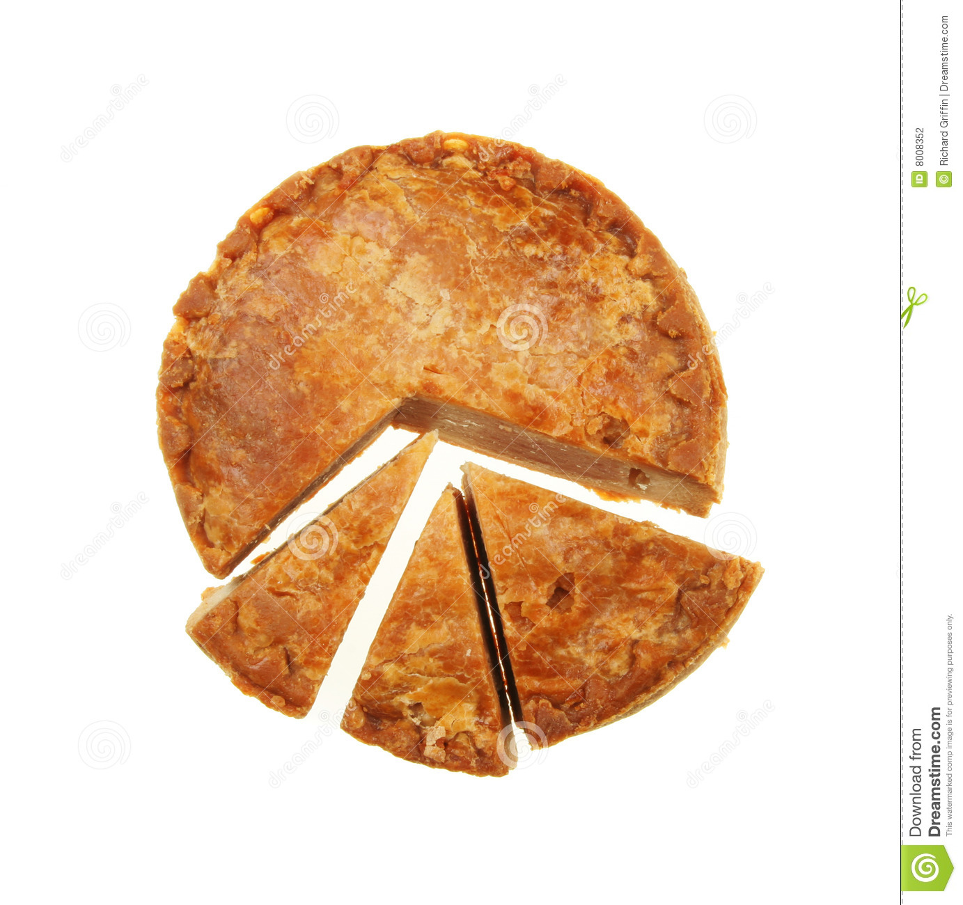 how to draw a pie chart accurately