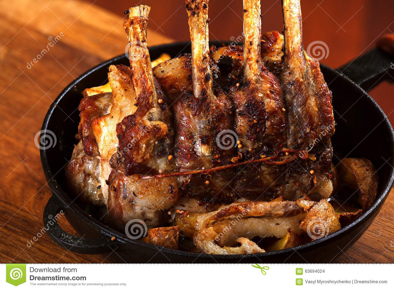 Pork Rib Roast with Oven