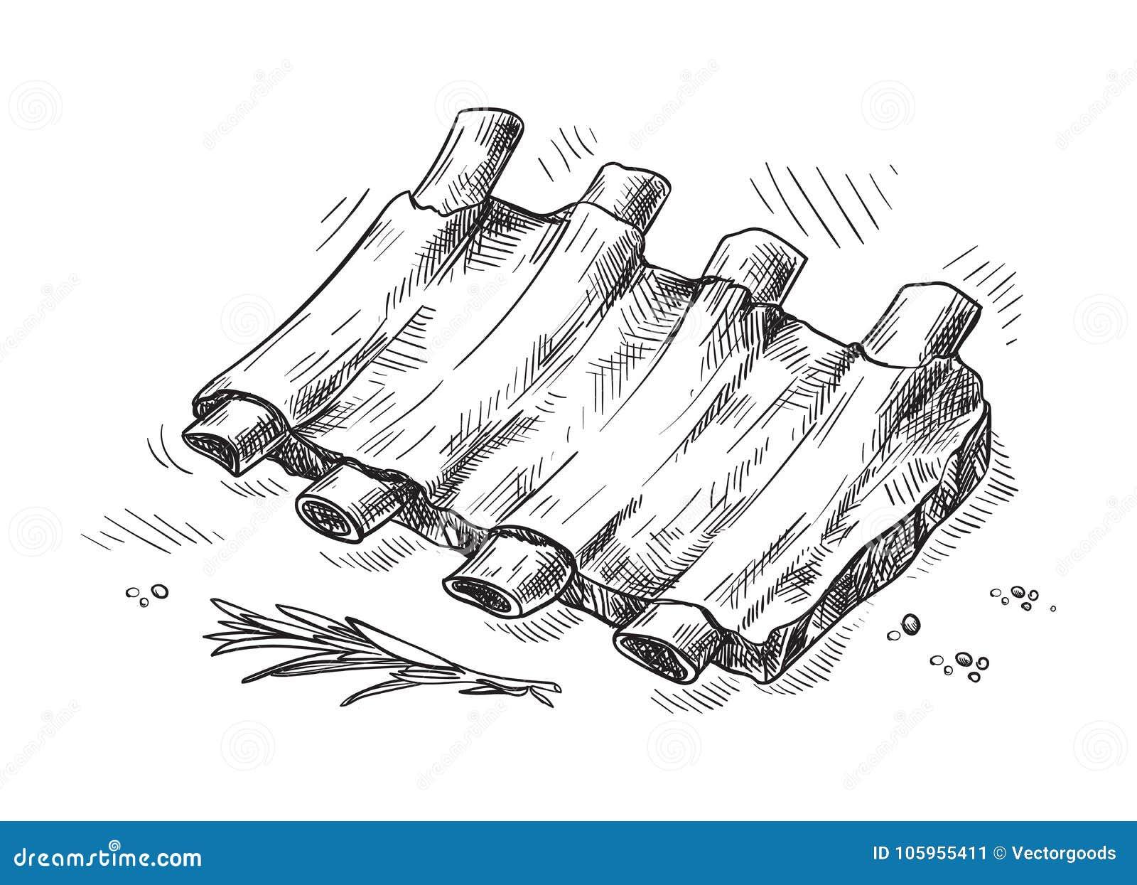 Pork Cartoons, Illustrations & Vector Stock Images