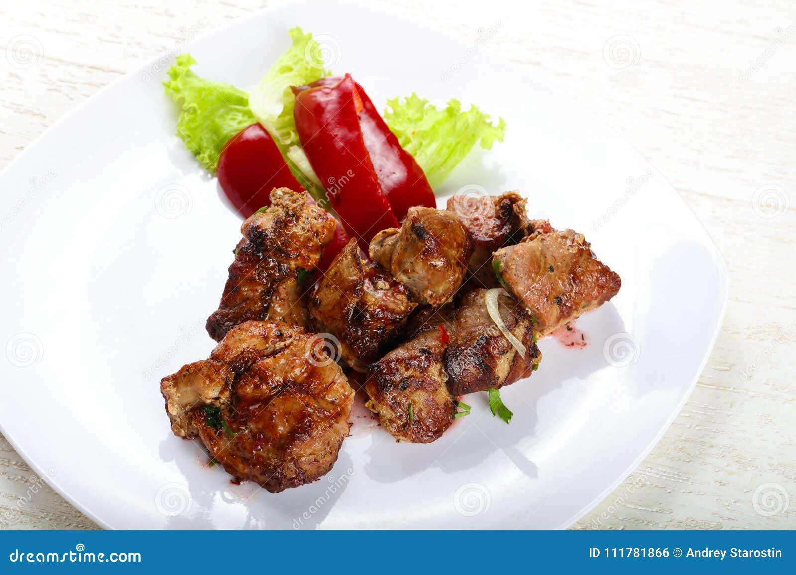 Pork sashlik