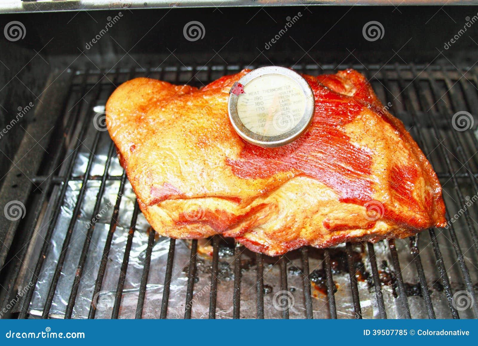Pork Roast on Barbeque