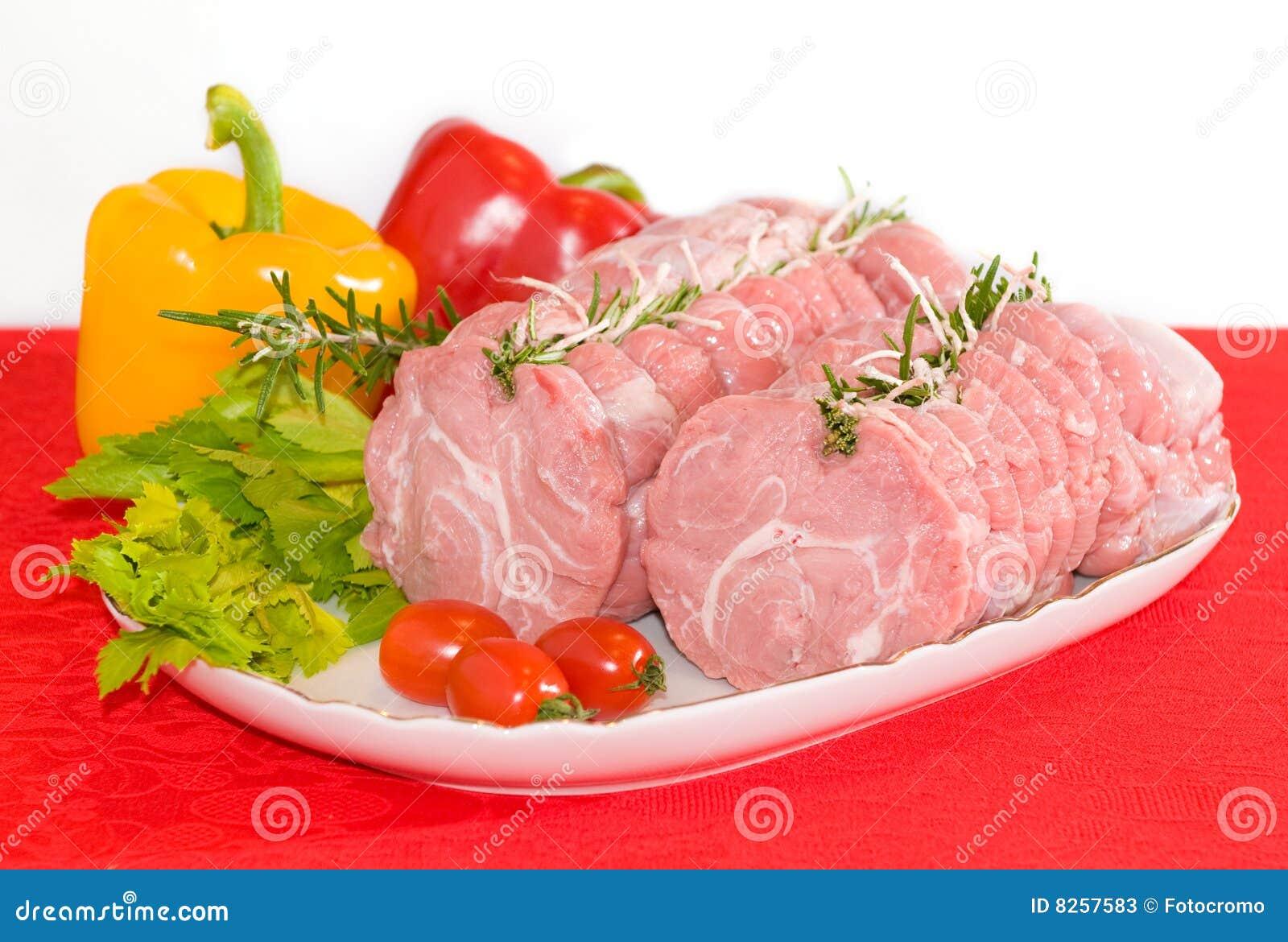 Pork or veal roll