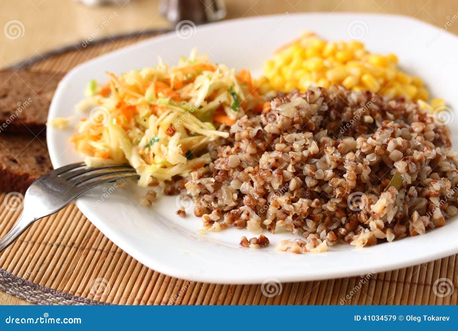 Porridge del grano saraceno