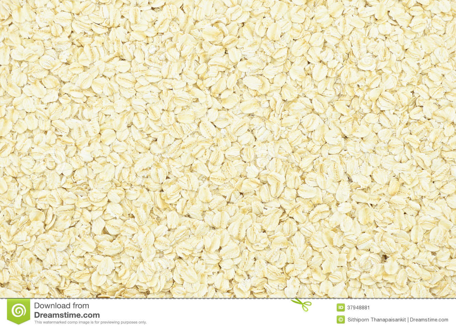 Porridge oats or oatmeal background