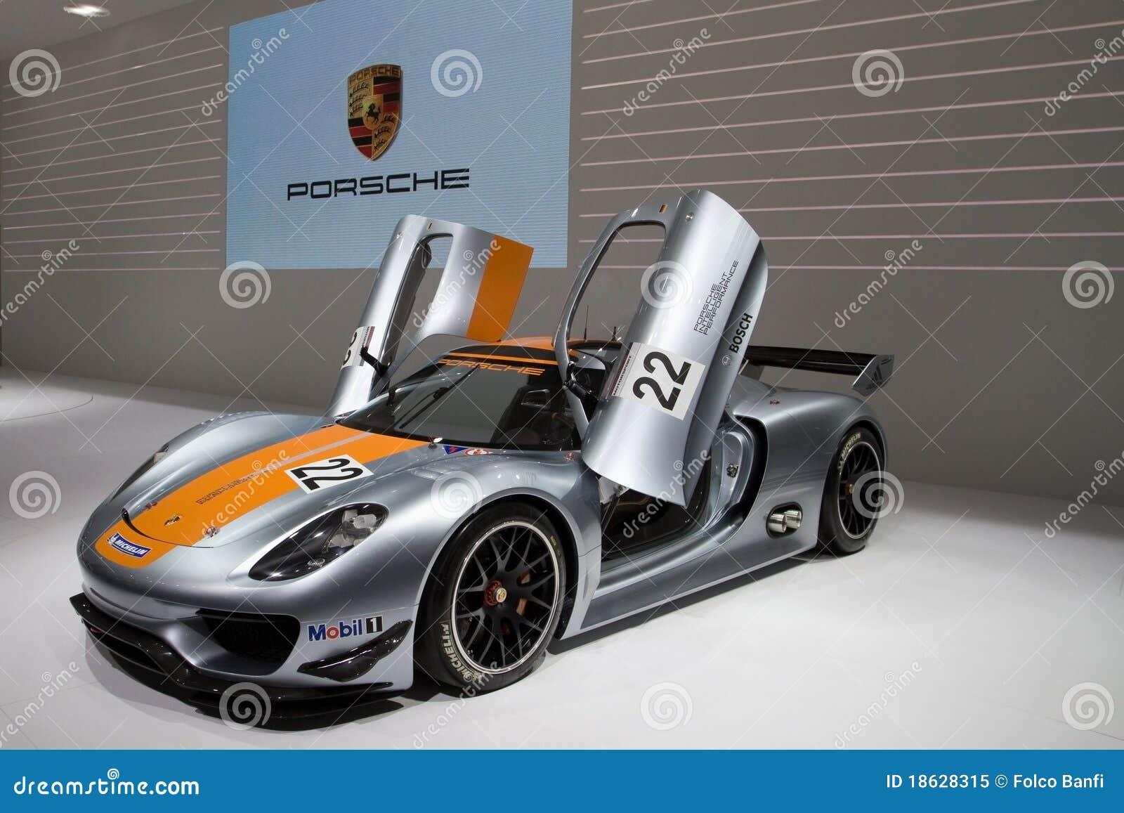 Download Porsche 918 RSR Racing Lab Hybrid Editorial Image