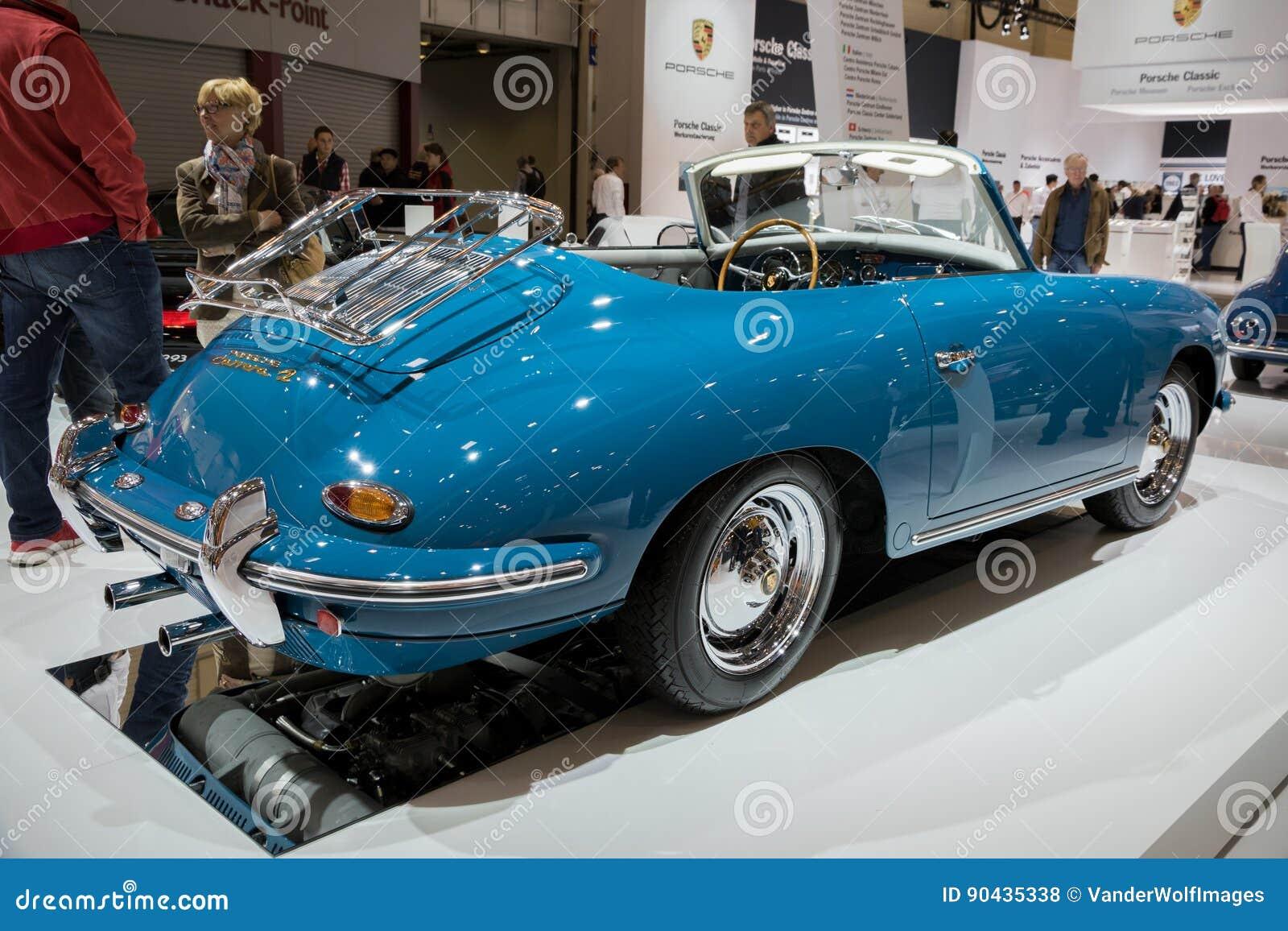 1963 porsche 356b carrera 2 cabriolet classic car editorial image 90435338. Black Bedroom Furniture Sets. Home Design Ideas