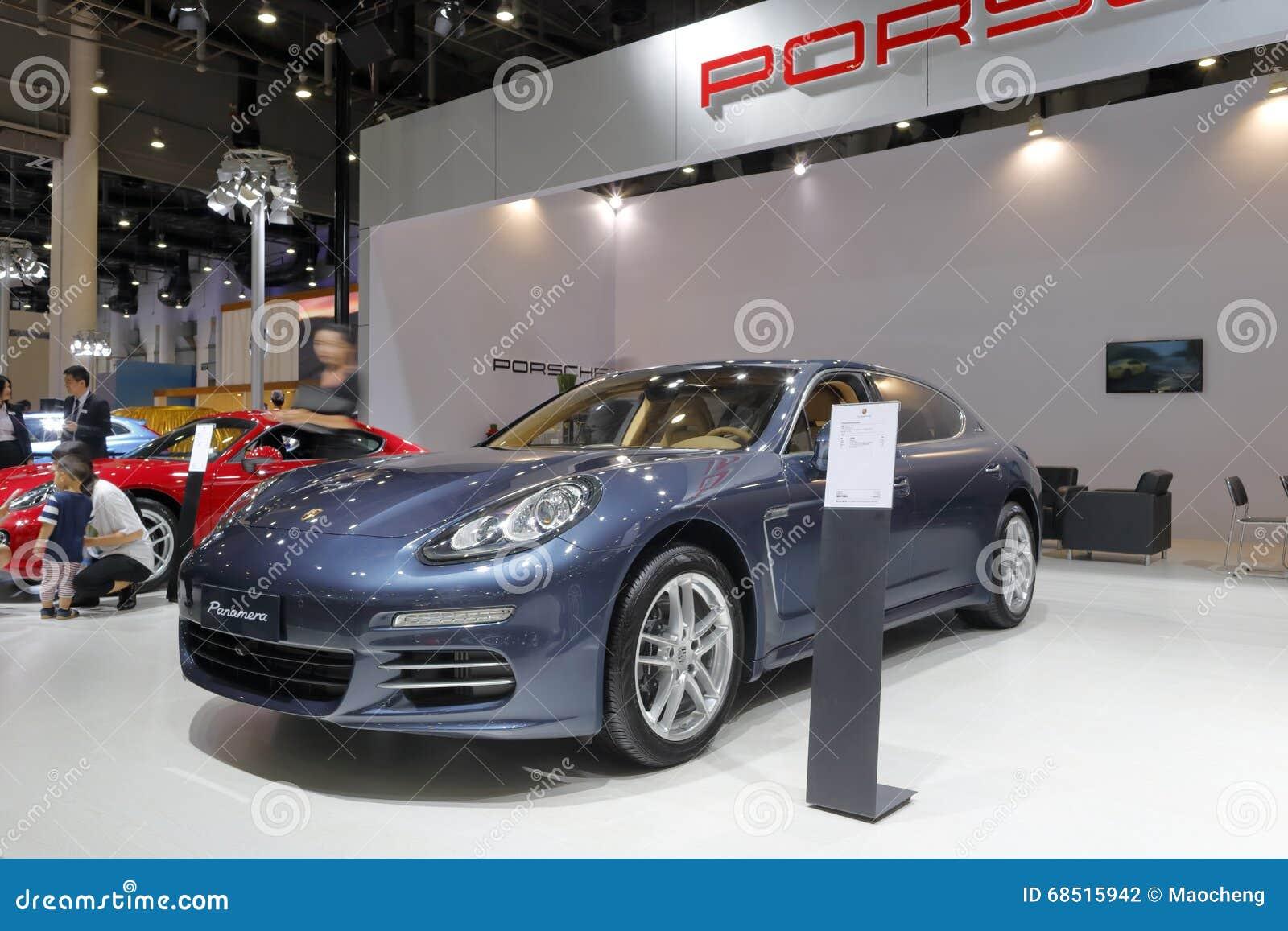 Porsche Booth Editorial Photography Image Of Dull Sedan