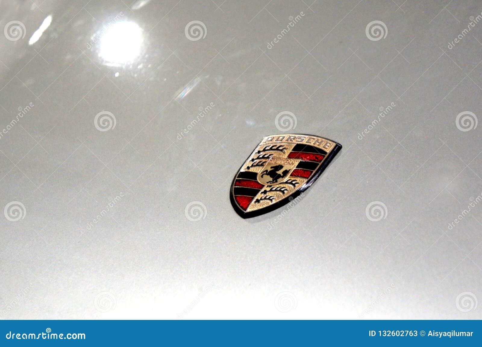 Porsche Car Logos And Emblem At The Car Body Editorial Stock Photo Image Of Editorial German 132602763