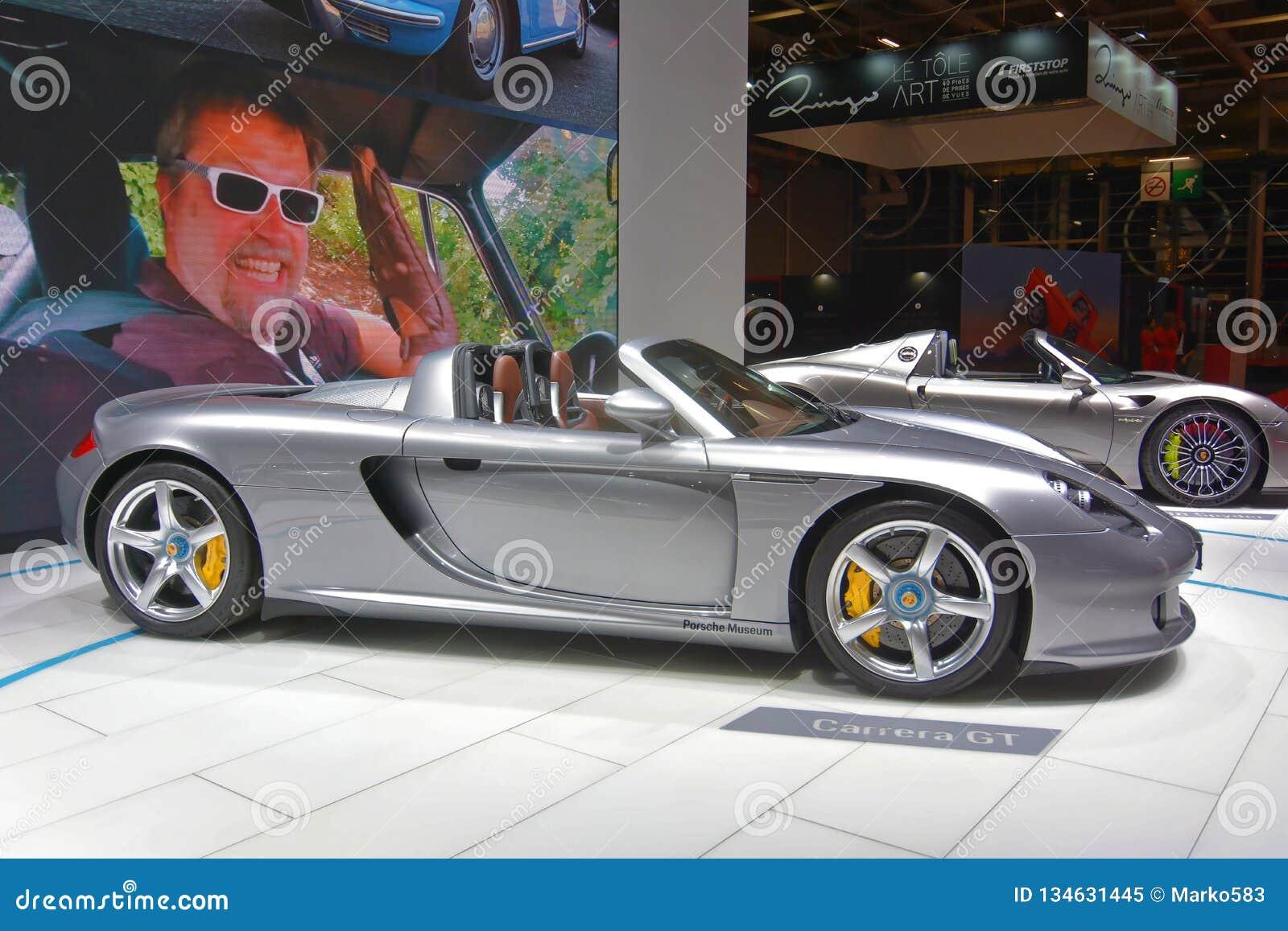 Porsche Carrera Gt Engine