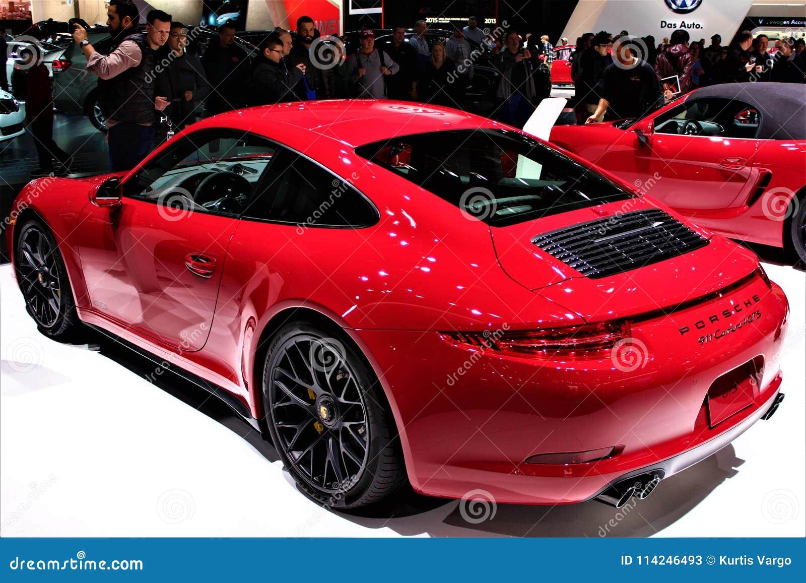 Porsche 2015 911 Carrera 4 GTS all esposizione automatica di Detroit