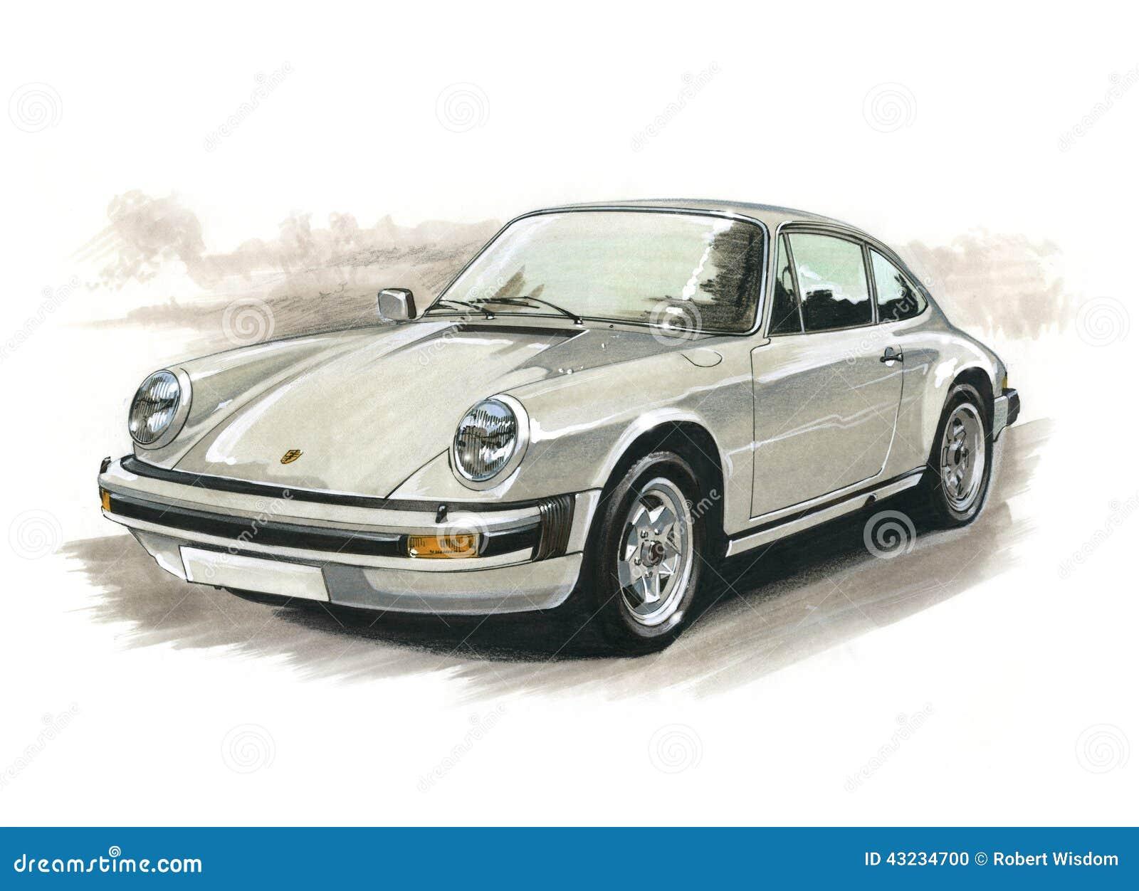 Porsche 911 Carrera Editorial Image Image 43234700