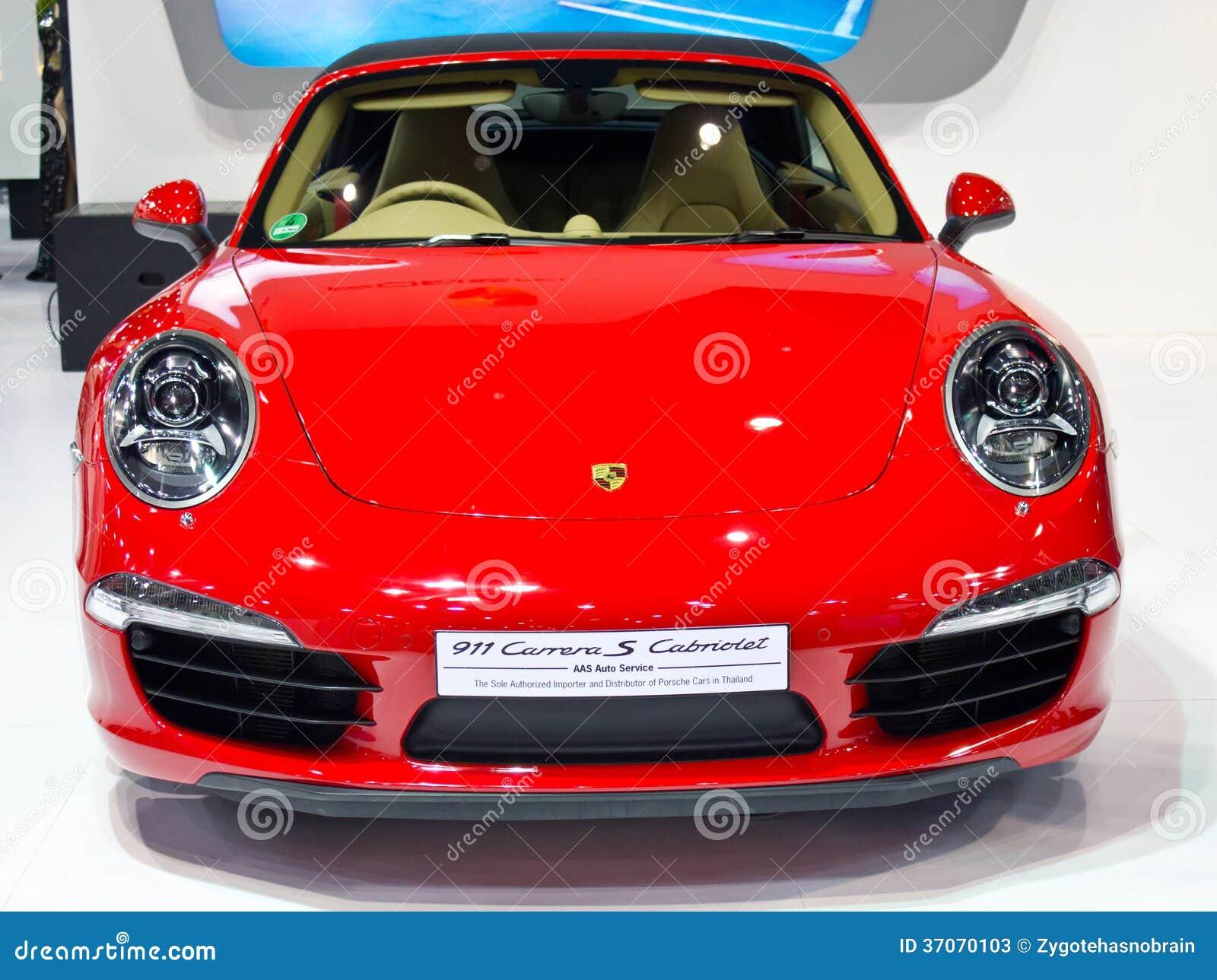 Porsche 911 Carrera S Cabrioletbil.