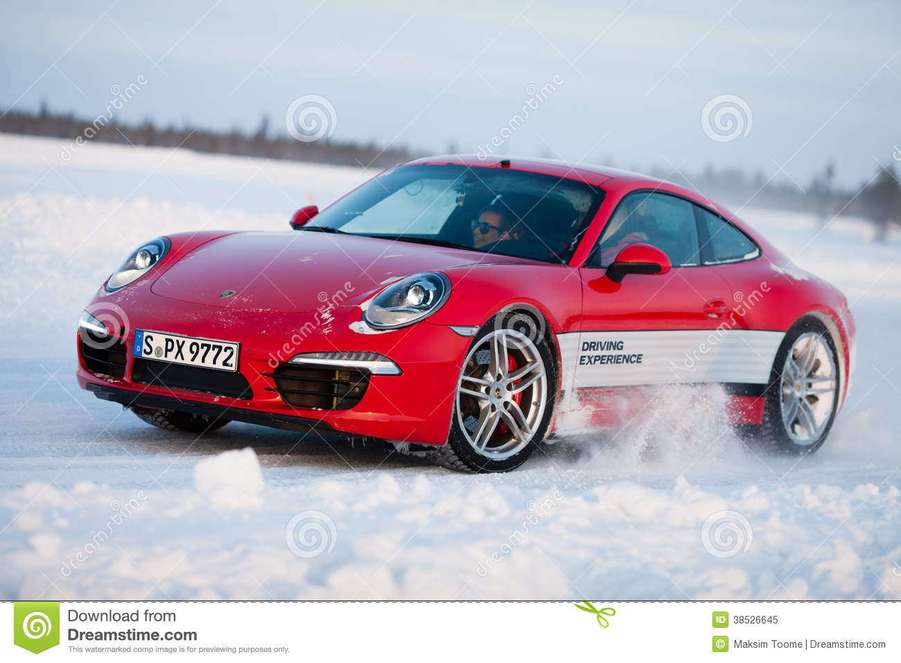 Porsche 911 Carrera 4s Editorial Image Image Of Engine