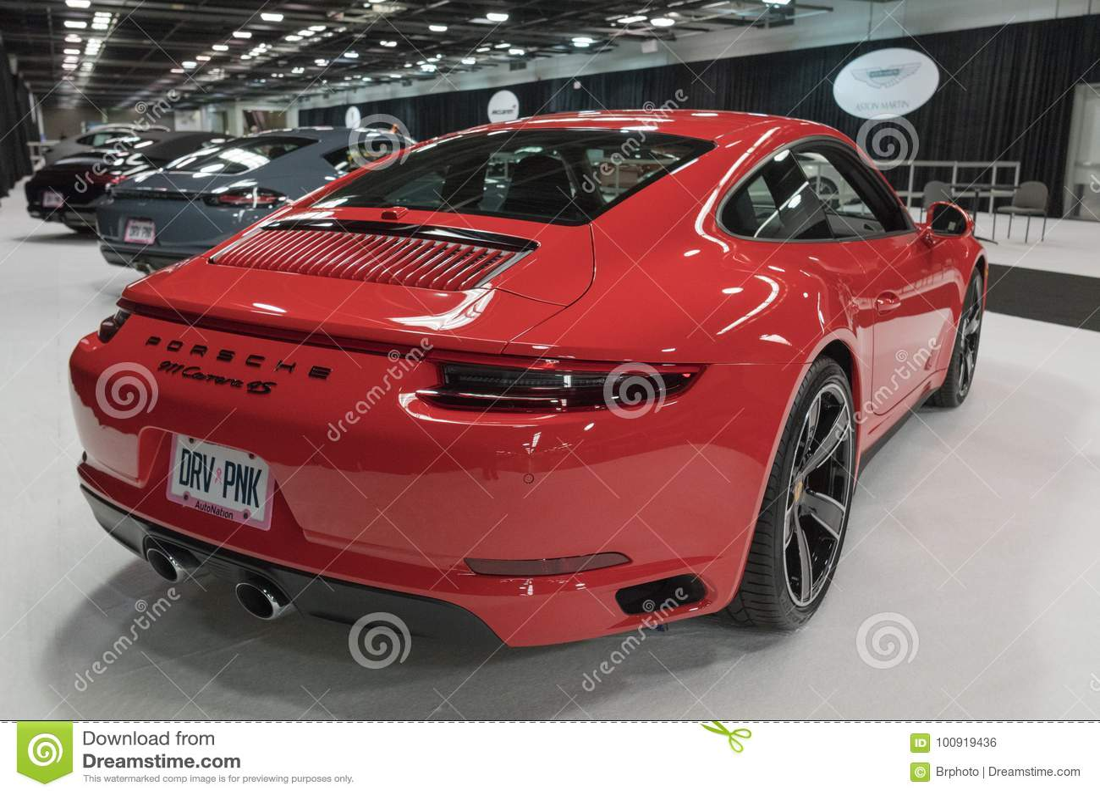 Porsche 911 Carrera 4S på skärm
