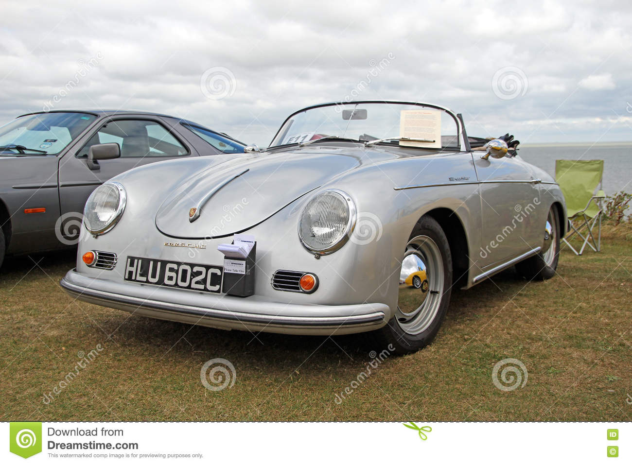 Porsche Carrera Speedster Vintage Classic Editorial Photography