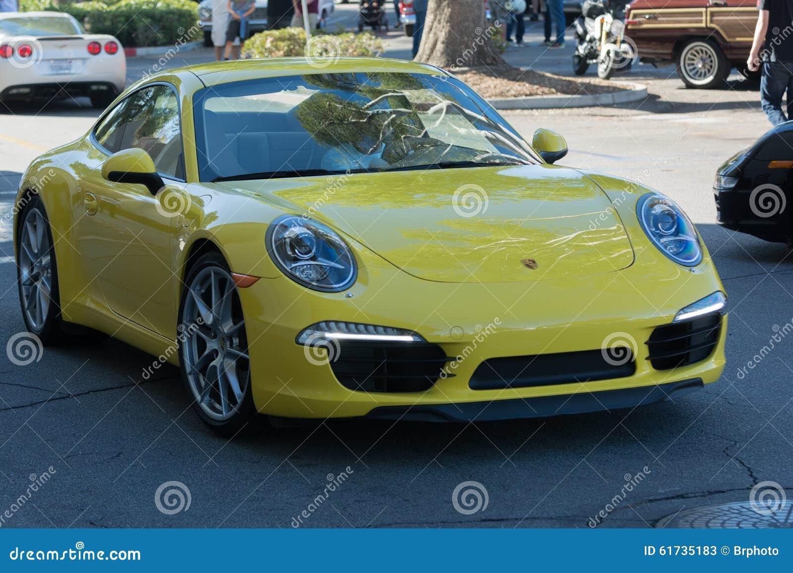 Porsche Carrera su esposizione
