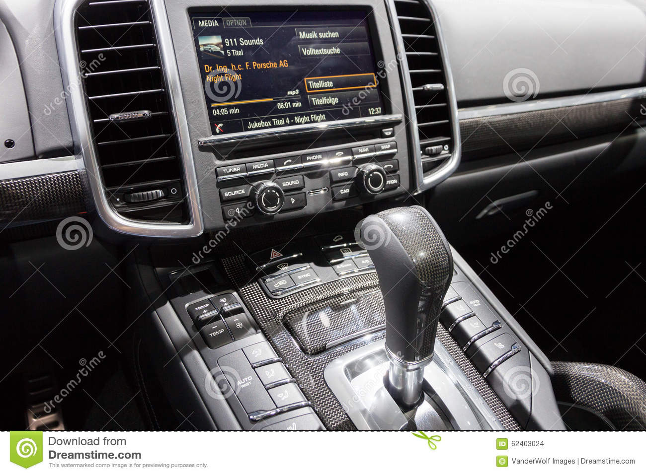 Porsche Cayenne Gts Editorial Stock Image Image Of Console 62403024