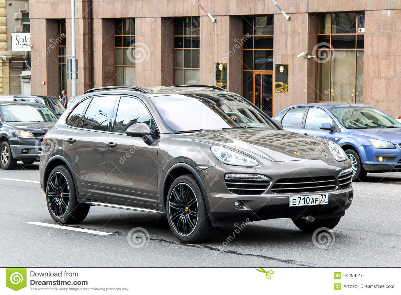 Brown porsche cayenne suv editorial image 55938982 Motor city car sales