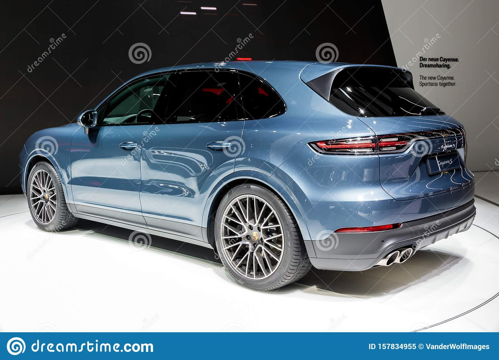 Porsche Cayenne S Car Editorial Image Image Of Modern 157834955