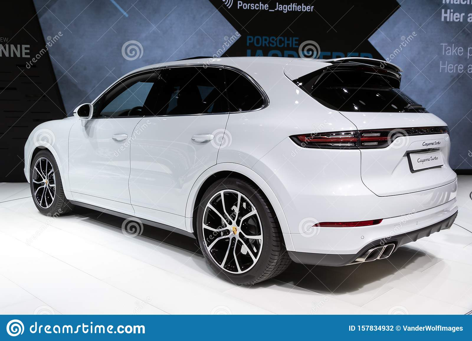 Porsche Cayenne Suv Car Editorial Photography Image Of Back 157834932
