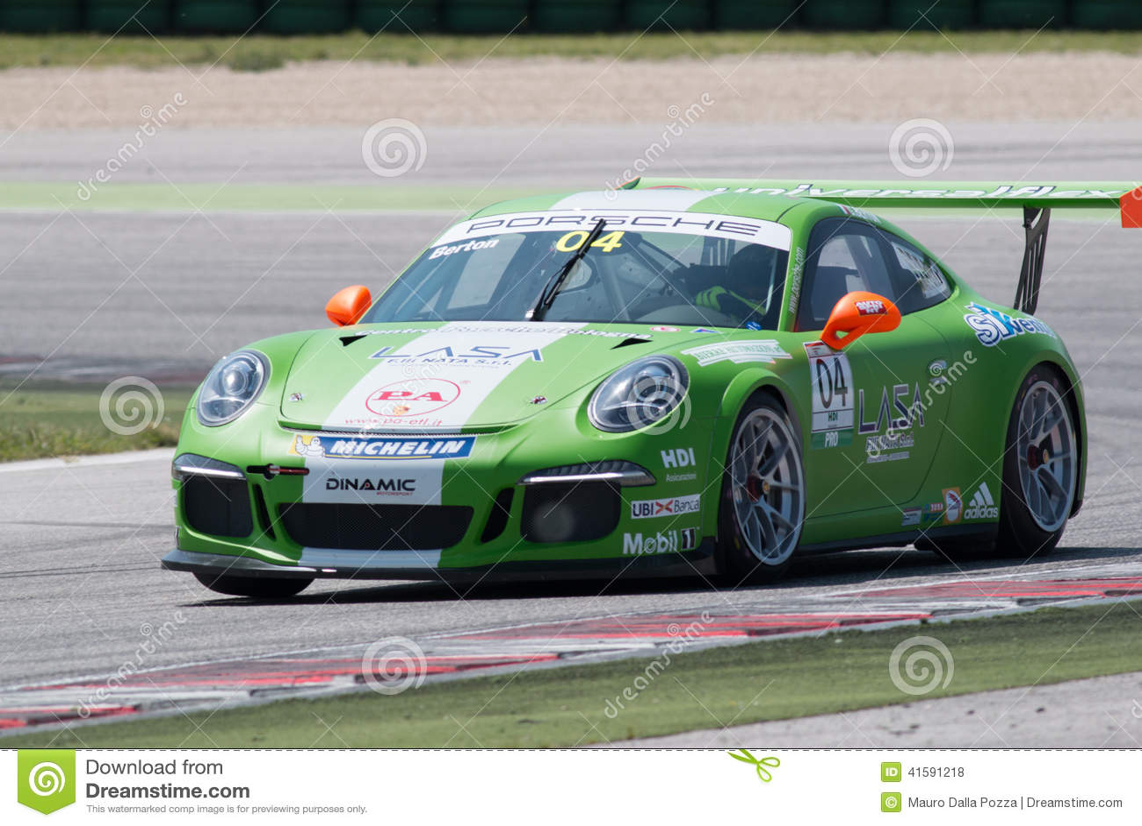 Porsche 911 Gt3 Cup Race Car Editorial Stock Photo Image Of